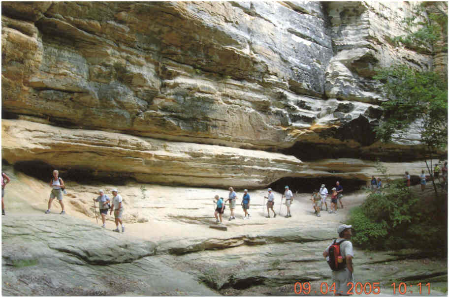 try starved rock state park or